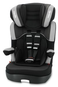 Autostoel-Nania-Myla-Premium-Black-1/2/3-