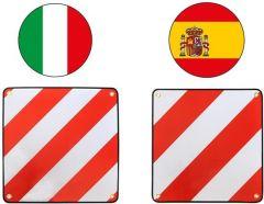 Pro+-Markeringsbord-aluminium-50x50cm-voor-Italië/Spanje-2-in-1
