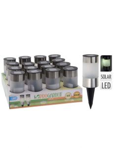 Solarlamp-RVS-6-cm-cilinder