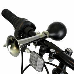 Fietshoorn-Chroom-Zwart