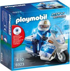 Playmobil-Politiemotor-met-LED-licht---6923