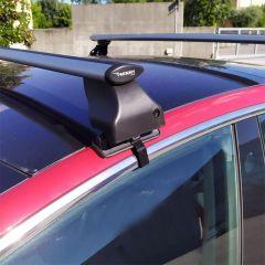 Dakdragerset-Twinny-Load-Aluminium-Fly-Bar-F02-voor-Tesla-Model-3