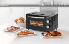 Bestron-mini-oven-zwart-9-liter
