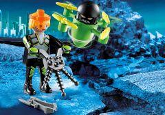Playmobil-Agent-met-Drone