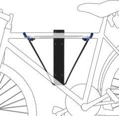 Opklapbaar-fietsophangsysteem