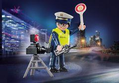Playmobil-Politieman-met-Flitscontrole