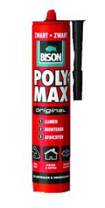 Bison Poly Max Original zwart 425gram