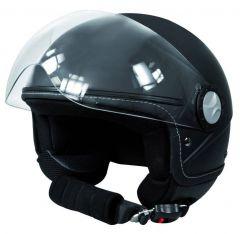 Jethelm zwart L (59/60 cm)