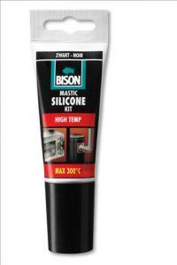 Bison Siliconenkit High Temp zwart 60ml
