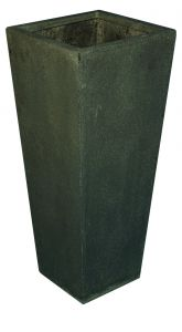 Terrazzo---Vaas-Vierkant-grijs-40x40