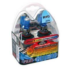 Verlichting H10 Blue-Xe lampen 12V 42W 4500K