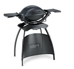 Weber Q1400 Dark Grey (met onderstel) Elektrische BBQ