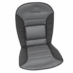 Stoelkussen-comfort-zwart/grijs