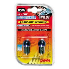 Verlichting BA15s Blue-Xe lamp DYED 12V 5W