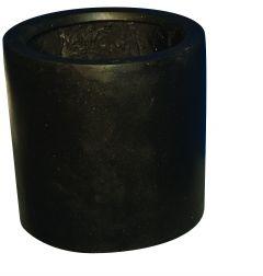 Terrazzo---Cilinder-zwart-30x30