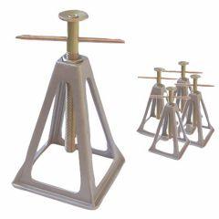 Aluminium-Steunenset-Verstelbaar-4-stuks