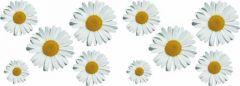 Bloemen-decor-sticker