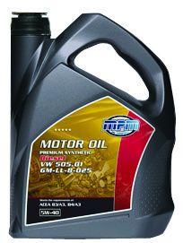 MPM motorolie 5W40 Premium Synthetic Diesel VW 505.01 5 liter