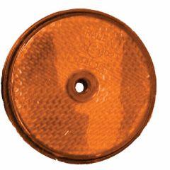 Reflector-60mm-schroef-oranje