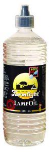 Lampenolie blank 1 liter