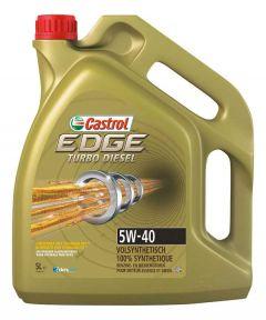 Castrol Edge turbo Diesel 5W40 5 liter