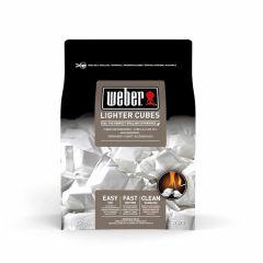 Weber-Aanmaakblokjes,-22-stuks,-wit