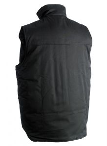 Herock Donar waterafstotende Bodywarmer zwart M
