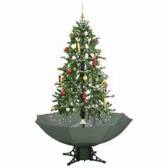 Sneeuwende Kerstboom Groen - 170 cm