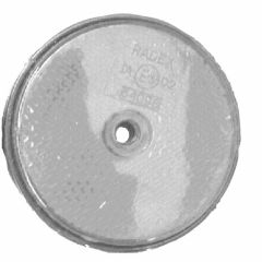 Reflector-60mm-schroef-wit