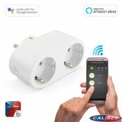 Caliber HWP121E Wifi Power Plug 16A 2.0