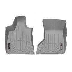Floorliner-1e-zitrij-Maserati-Quattroporte-VI-4WD-2014-2018-(ronde-clips-&-Clima-4-zones)---Grijs