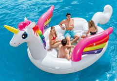 Intex Ride on Unicorn Party Eiland