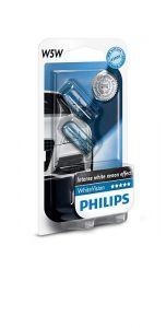 Philips-Whitevision-W5W-set