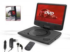 """Draagbare-DVD-speler-met-10""""-monitor-en-ingebouwde-batterij"""