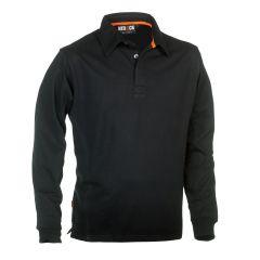 Herock-Troja-Polo-Long-Sleeves-Zwart-S