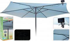 Solarverlichting parasol