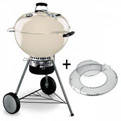 Weber-Master-Touch-GBS-57cm-Ivory-Houtskool-BBQ