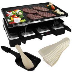 Raclette grill 8 personen 1200/1400W