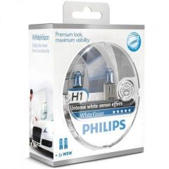 Philips-Whitevision-H1-W5W-set