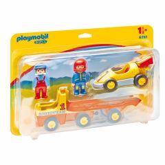 Playmobil---1.2.3-racewagen-met-takelwagen