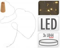 Flessenstopper met 8 LED