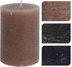 Kaars-rustiek-6,8x10-cm-5kleuren