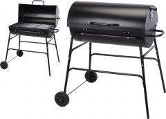 Houtskoolbarbecue-cilindervorm