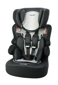 Autostoel-Nania-Beline-SP-Skyline-Black-1/2/3