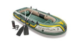 Opblaasboot Intex Seahawk 3-set
