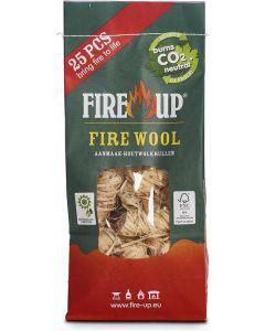 Fire Up FSC Houtwol 25 stuks