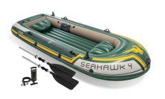 Opblaasboot-Intex---Seahawk-4-Set