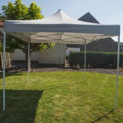 Partytent-3x3-meter-easy-up-deluxe-grijs-Pure-Garden-&-Living