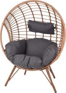 Relaxstoel Wicker - Rond