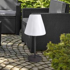 Lamp op metalen voet 60 cm